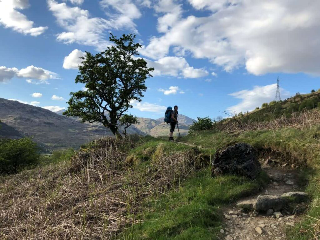 West Highland Way - Wanderer