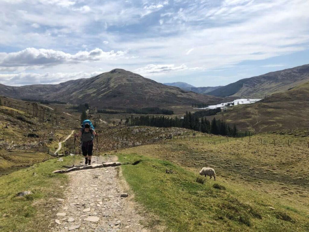 West Highland Way - Weg nach Fort William