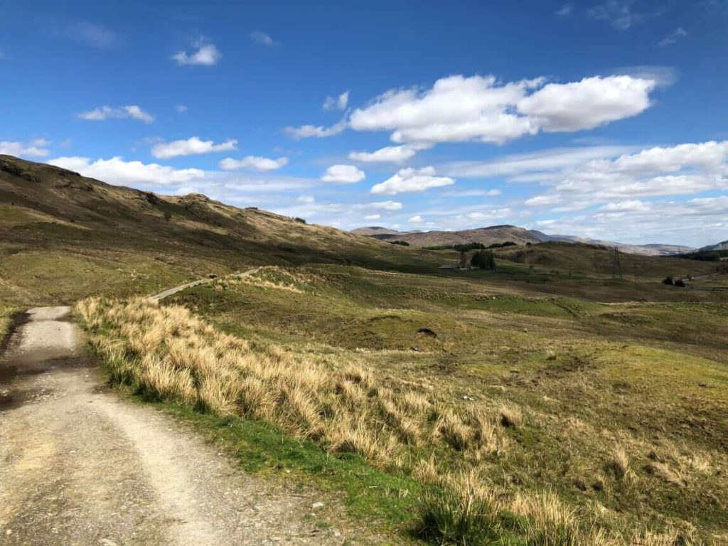 West Highland Way - Von Inverarnan nach Tyndrum