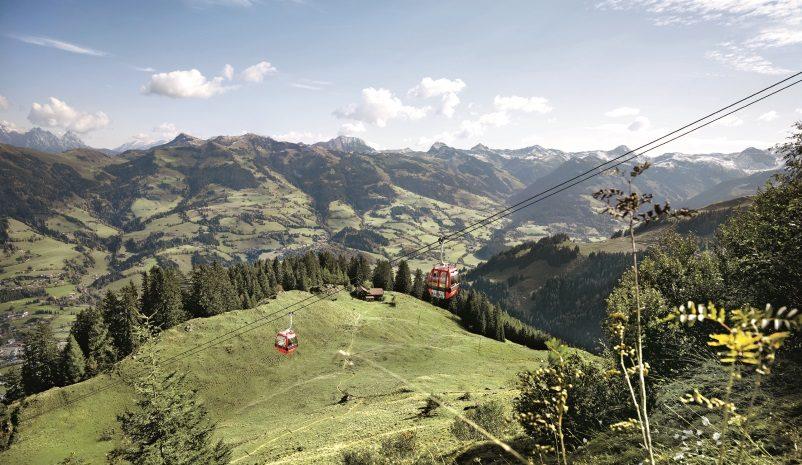 Hahnenkamm Panoramaweg, Kitzbühel in Tirol