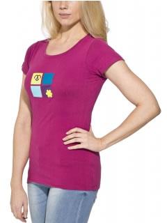 Berry Violet Klettershirt für Damen
