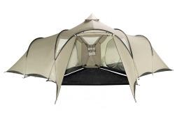 Hauszelt, 6 Personen Zelt bei CAMPZ