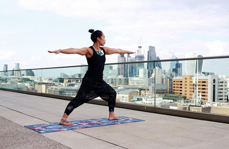 Yoga zu Hause - Krieger II