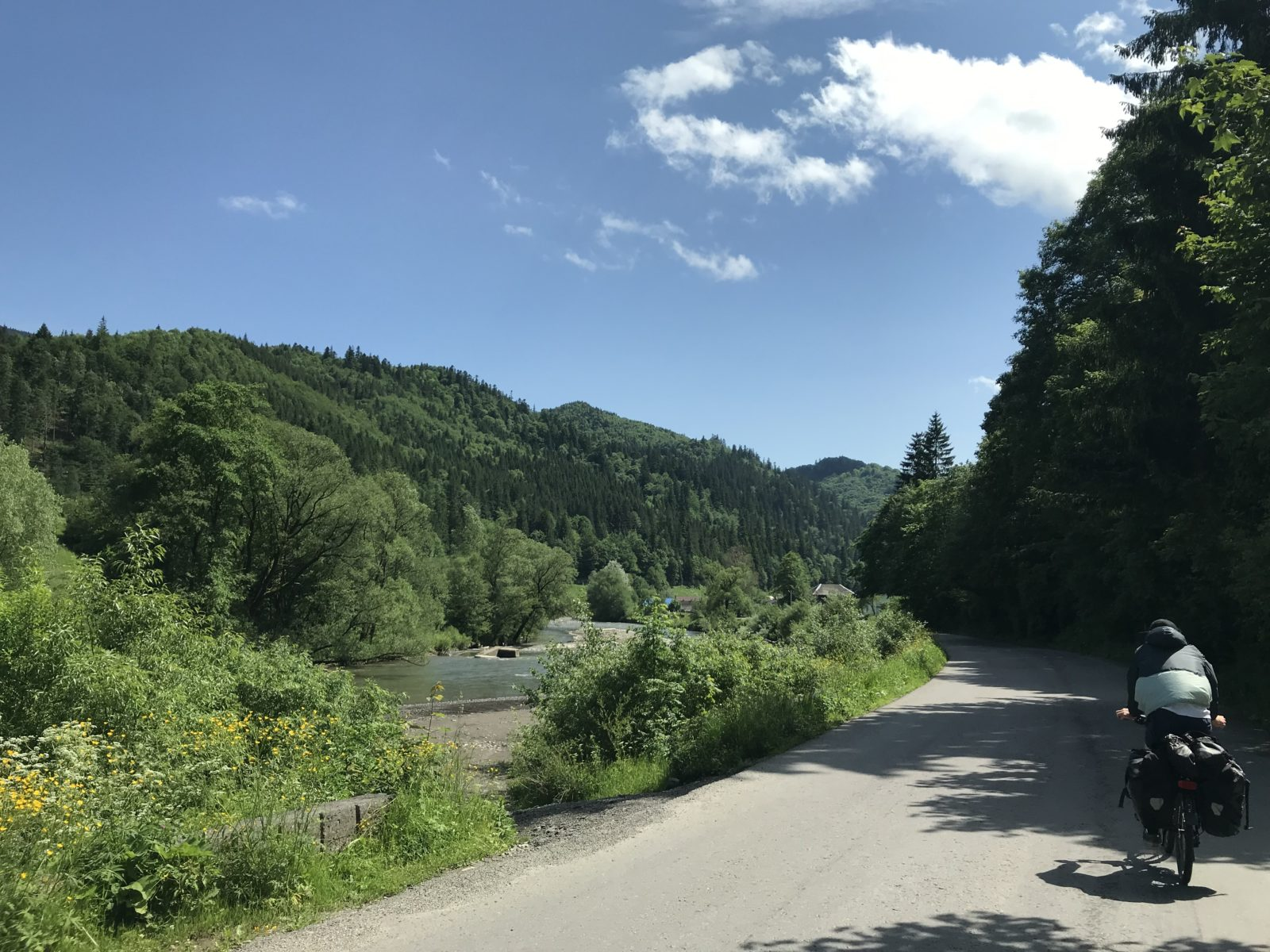 Mit dem Fahrrad quer durch Osteuropa