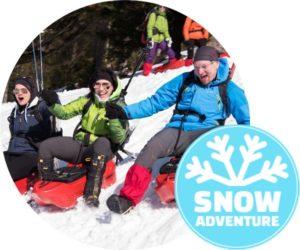 Schneeschuh- & Ruckxbob Tour