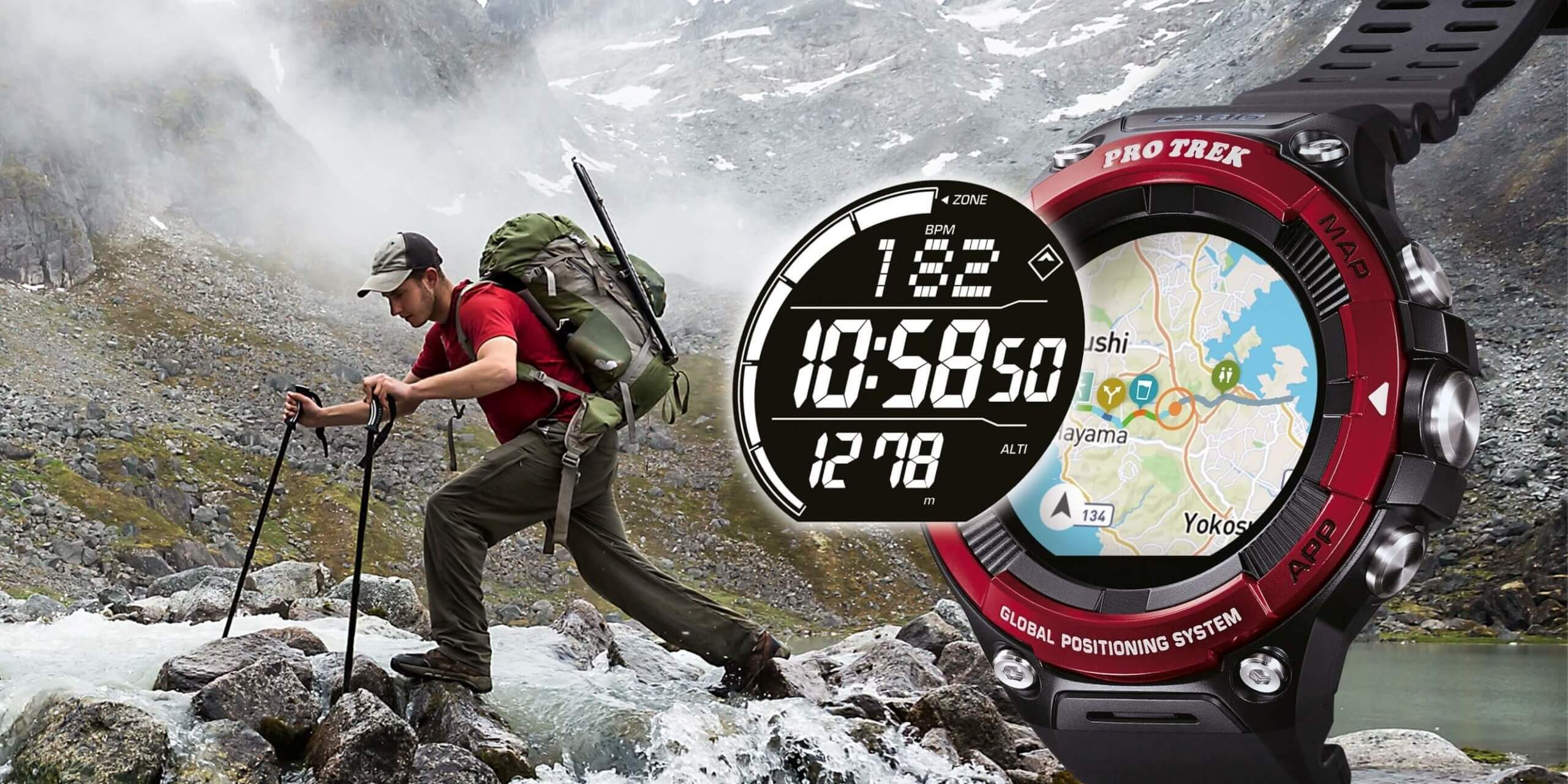 Tested by CAMPZ - Smartwatch Casio Pro Trek