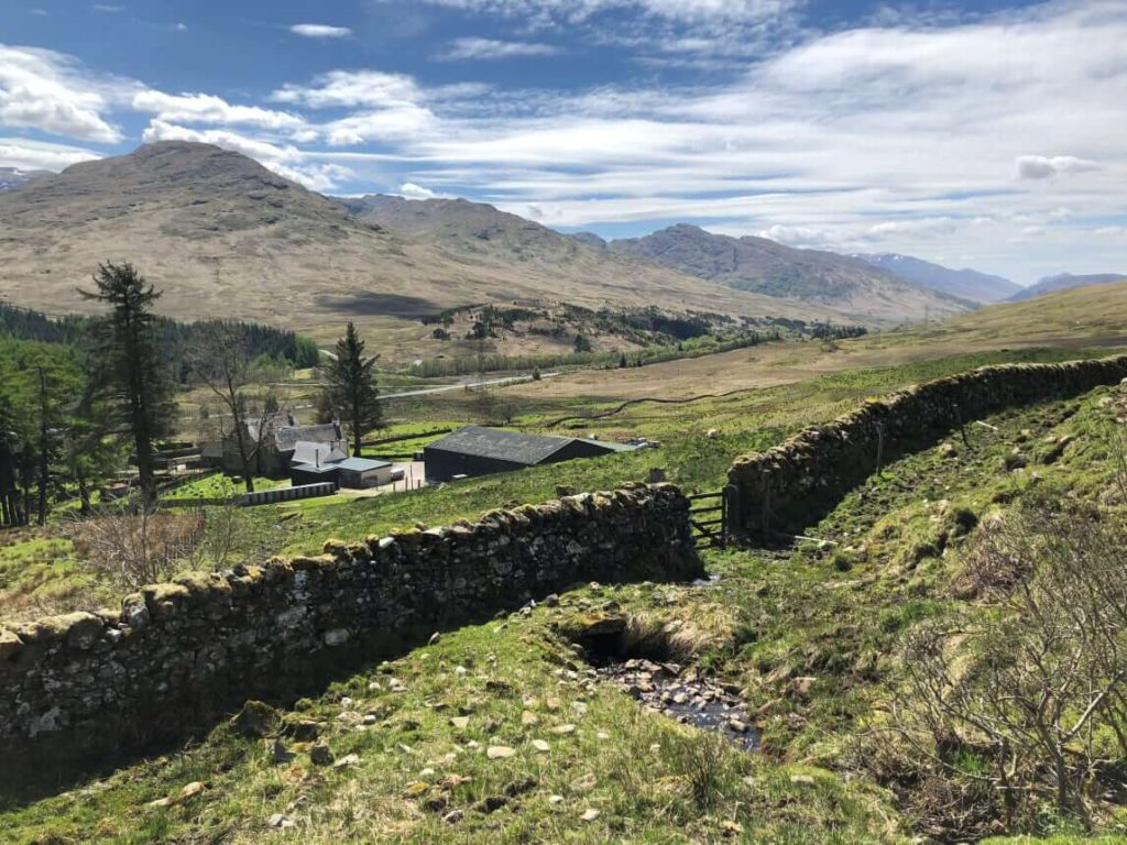 West Highland Way - Strecke nach Tyndrum