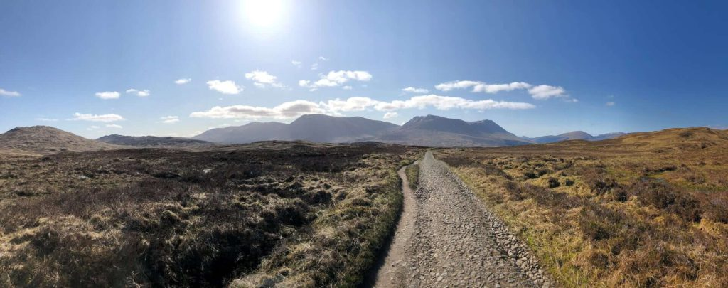 West Highland Way - Strecke von Inveroran