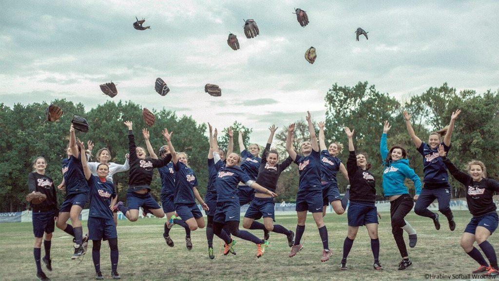 Softball-Team Hrabiny