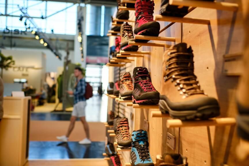 Innovative Wanderschuhe auf der OutDoor by ISPO