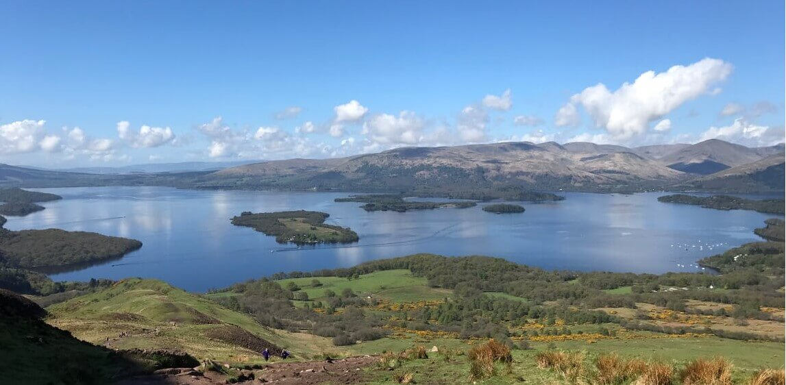 Der West Highland Way in Schottland