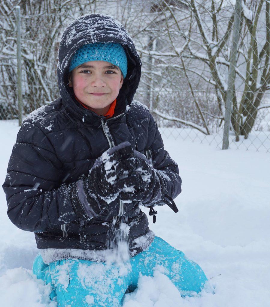 Funktionelle Winterbekleidung für Kinder - Junge