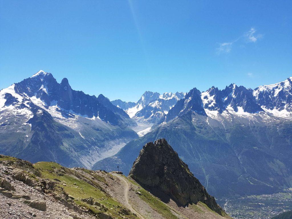 Panorama auf der Tour du Mont Blanc