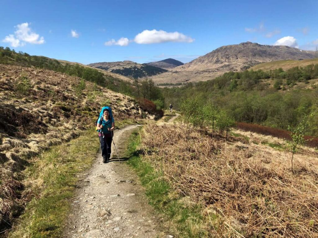 West Highland Way - Inverarnan - Tyndrum