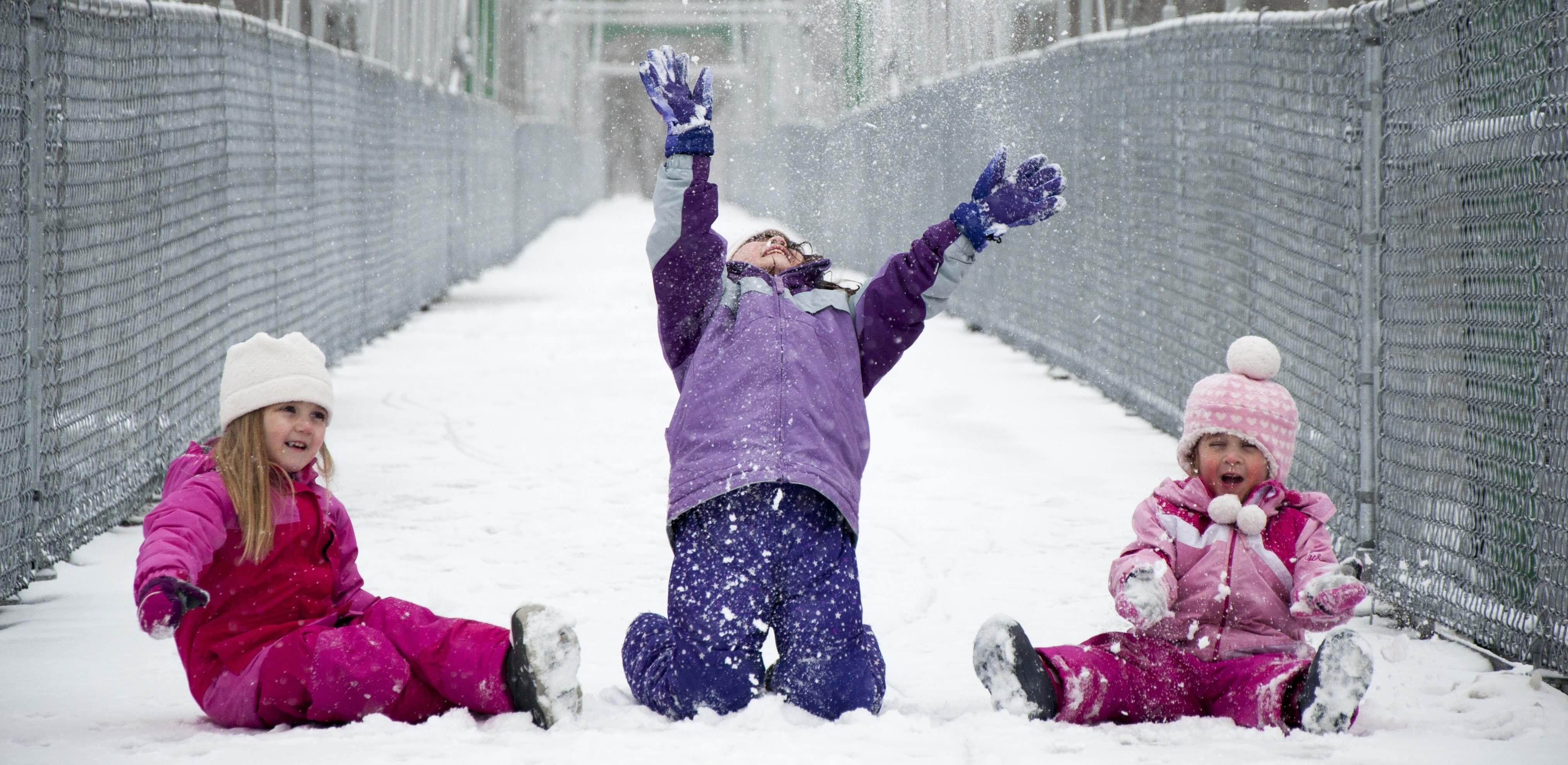 Funktionelle Winterbekleidung für Kinder