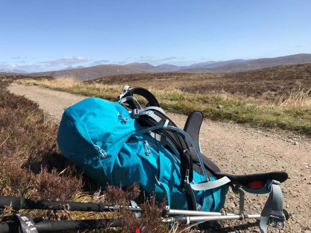 West Highland Way - Weg nach Kinlochlevan
