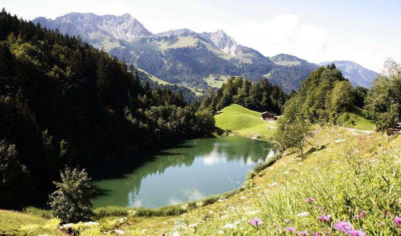 Seewaldsee – Wandern im Großen Walsertal