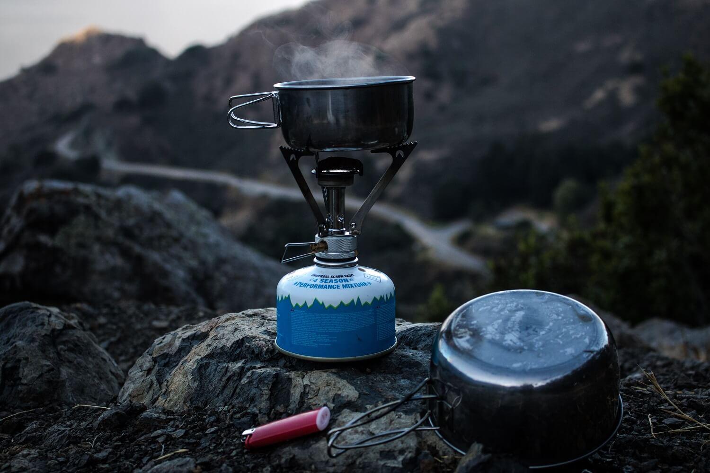Kochen mit Campingkocher