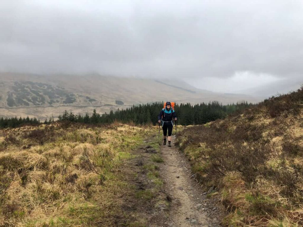 West Highland Way - Weg von Tyndrum