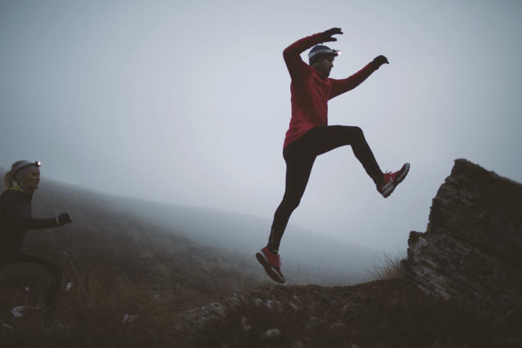 Funktionsjacken beim Running