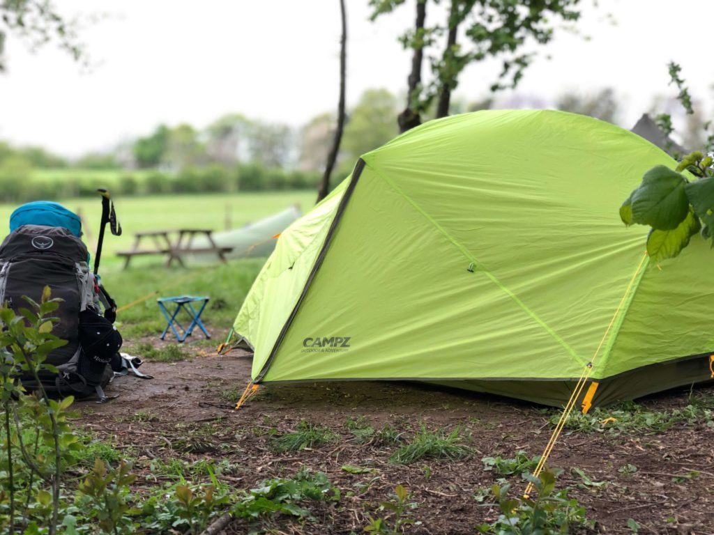West Highland Way - Drymen Camping