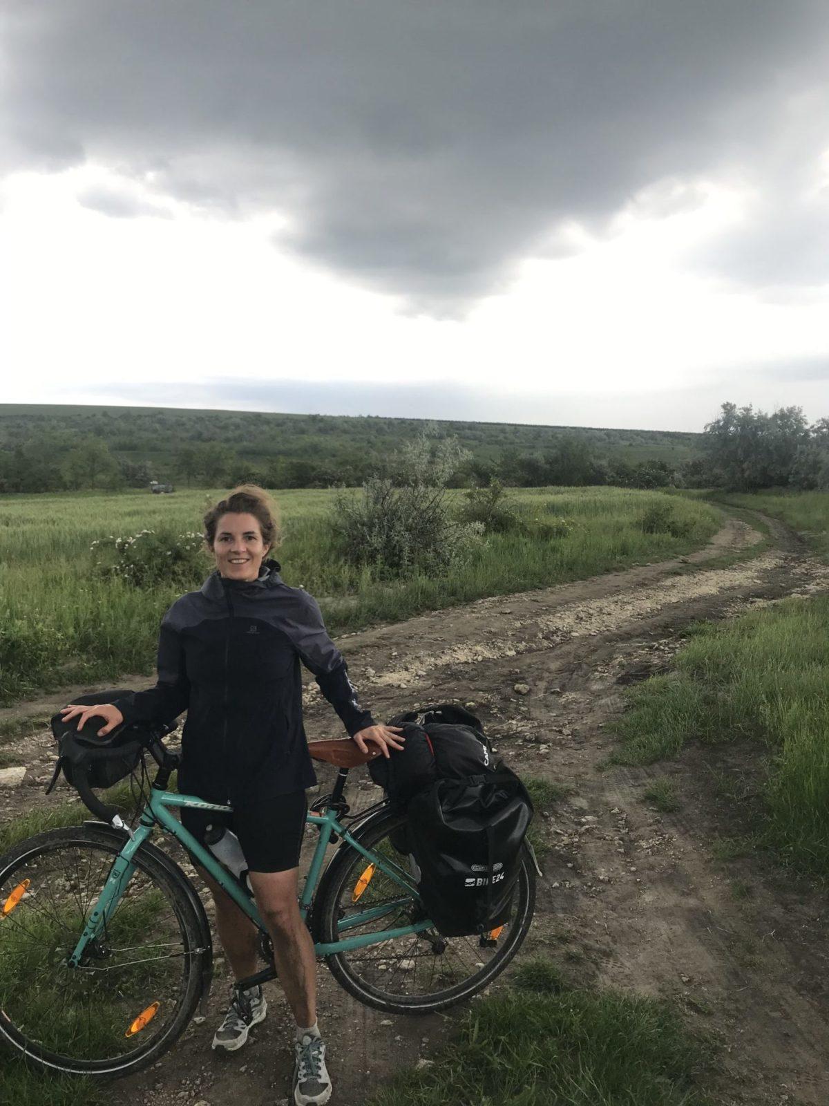 Auch Matsch und Regen waren bei Marthes Osteuropa Tour dabei