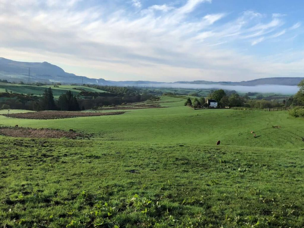 West Highland Way - Von Drymen nach Sallochy