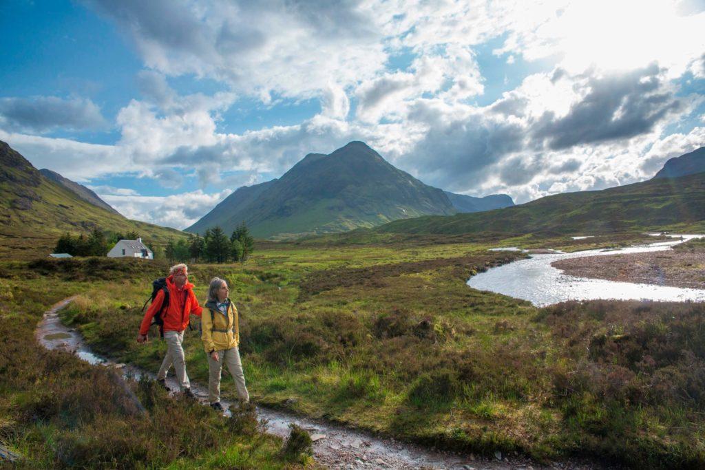 Fernwanderweg West Highland Way in den schottischen Highlands
