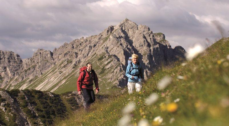Einstein Variante 1 – Wandern im Tannheimer Tal, Tirol