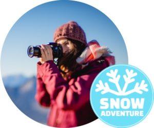 Schneeschuhwander Naturlicht Fotoworkshop