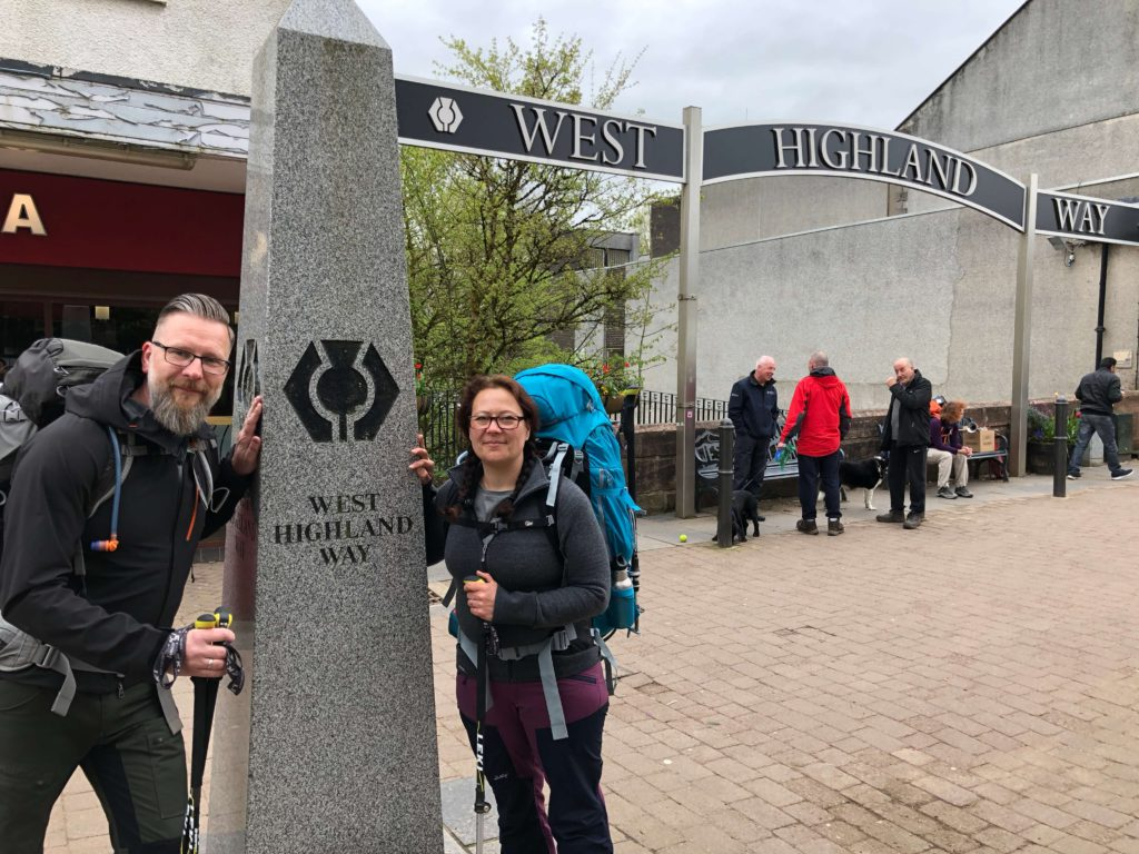 West Highland Way - Milngavie