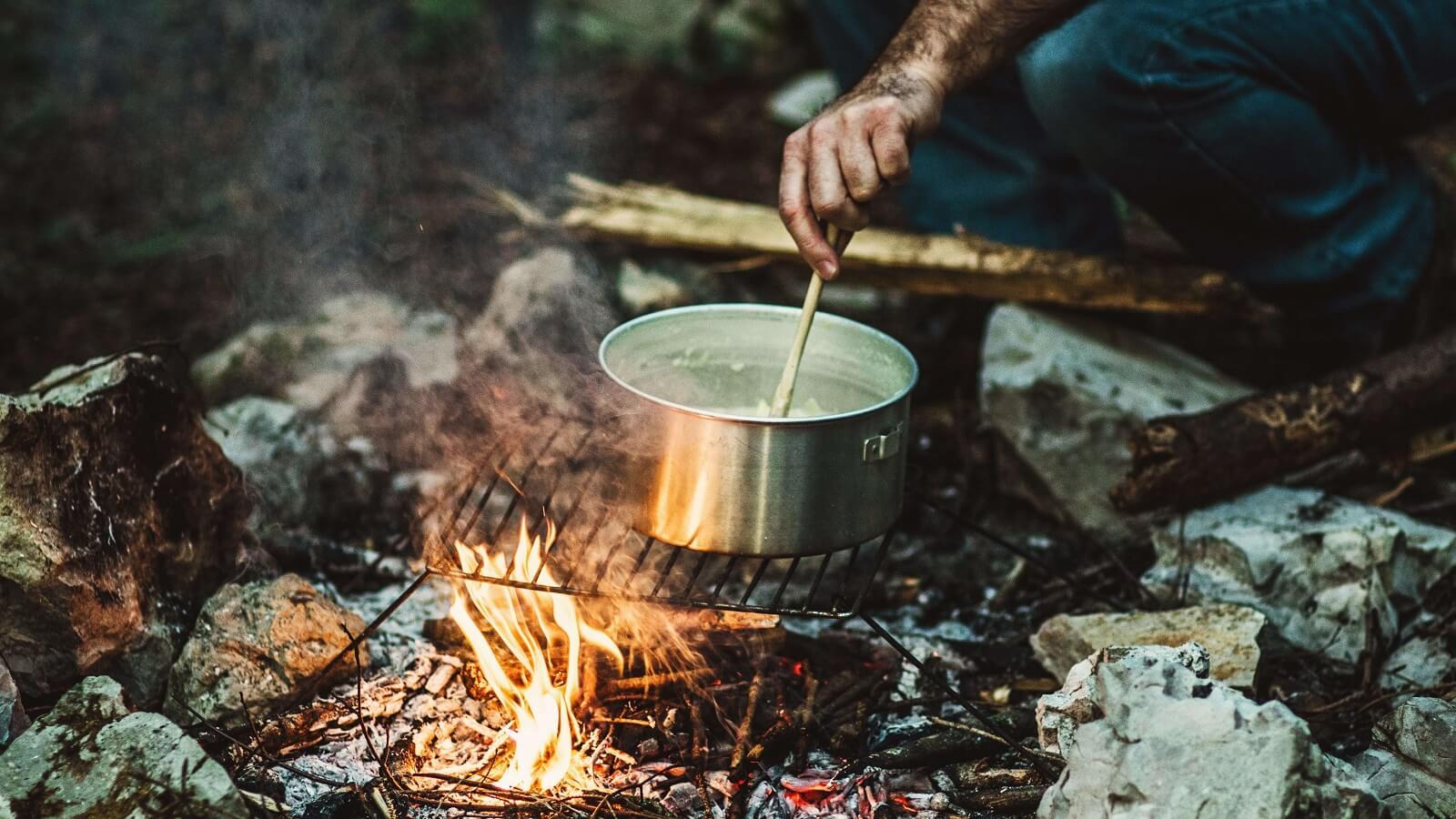 Rezepte für die Camping- und Outdoor-Küche