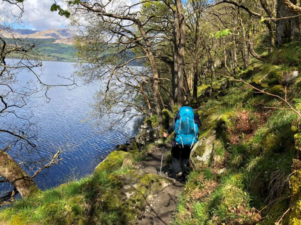 West Highland Way - Pfad von Sallochy